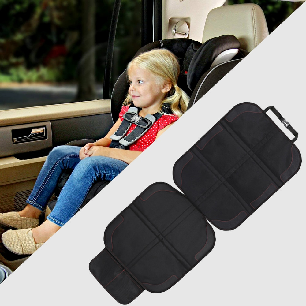 Car Seat Cover Oxford PU Leather Car Seat Protector Mats Child Baby Pads Seat Protective Mat For Bab
