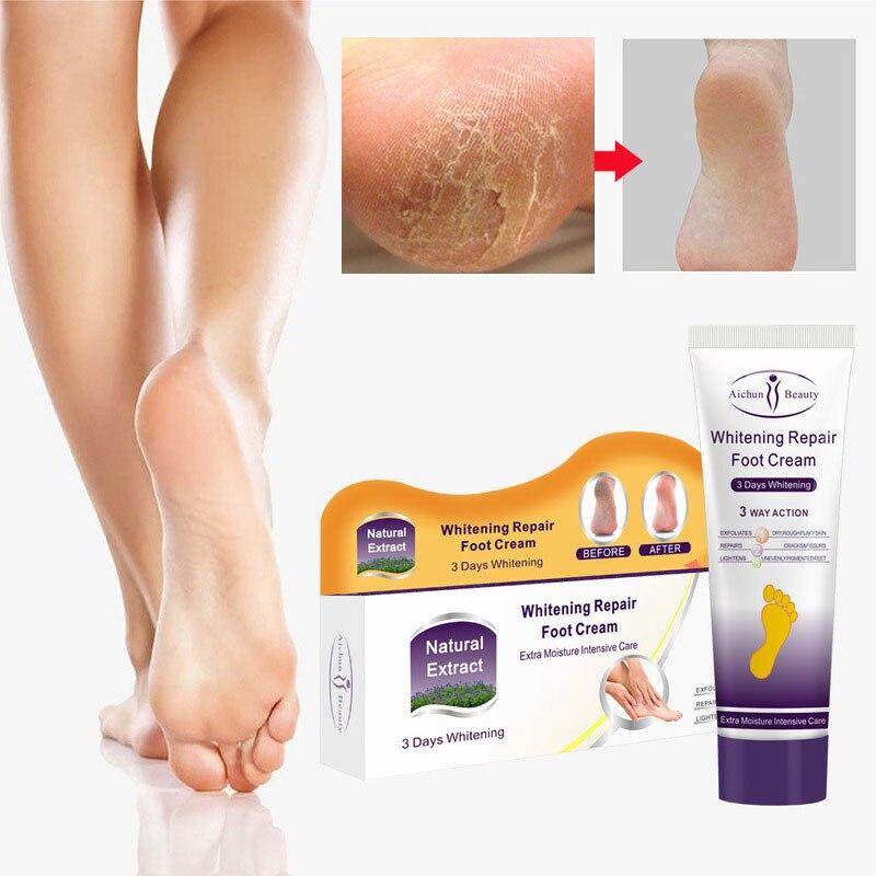 Anti-Drying Crack Foot Cream Heel Cracked Repair Cream Removal Dead Moisturizing Whitening Exfoliating Hand Feet Skin Care 100g недорого