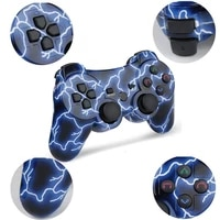k ishako wirelesswired for ps3 controller gamepad for playstation3 gamepad double shock usb game joystick console for sony