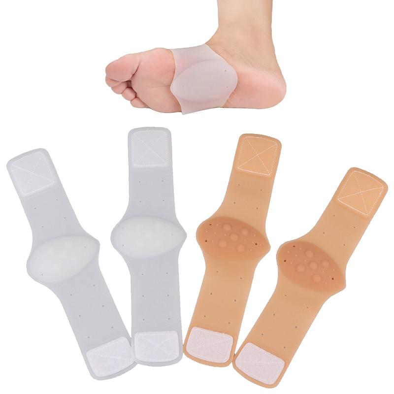 2 uds. Terapia de fascitis Plantar envoltura talón dolor en el pie arco soporte tobillo ortopédico talón Protector cálido plantilla ortopédica T0016