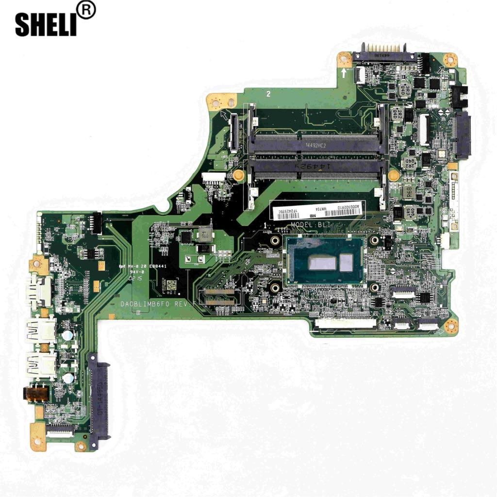 A000302810-اللوحة الأم BLI DA0BLIMB6F0 ث/i5-5200U S55T-B الأقمار الصناعية توشيبا