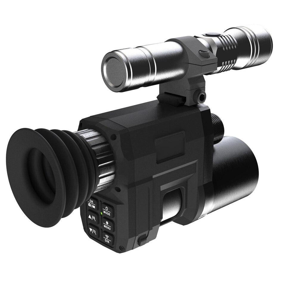 جهاز رؤية ليلية بالأشعة تحت الحمراء NV3000 1.3 بوصة ، كاميرا رؤية ليلية أحادية العين ، تلسكوب رقمي للخارج مع الاستخدام المزدوج للنهار والليل