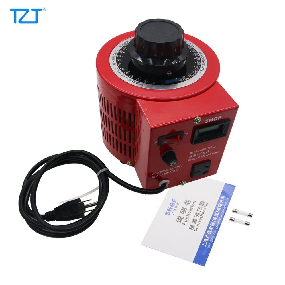 TZT APS-1001D 1KVA AC мощность переменный ток автотрансформатор регулятор напряжения силовой стат 0-300 В выход