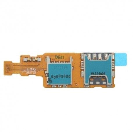 Гибкий плоский считыватель sim-карт и слот для карт micro sd для samsung Galaxy S5 Mini G800F