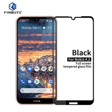 Tempered Glass For Nokia 4.2 Full Screen Coverage Tempered Glass Screen Protector Full Protective Fi