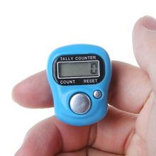 Mini Stitch Marker En Rij Vinger Teller Lcd Elektronische Digitale Telapparaat Voor Naaien Breien Weave Tool Vinger Teller Liep