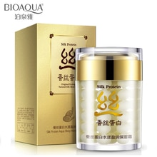 BIOAQUA face cream collagen protein moisturizer face cream anti acne anti wrinkle age silk skin care