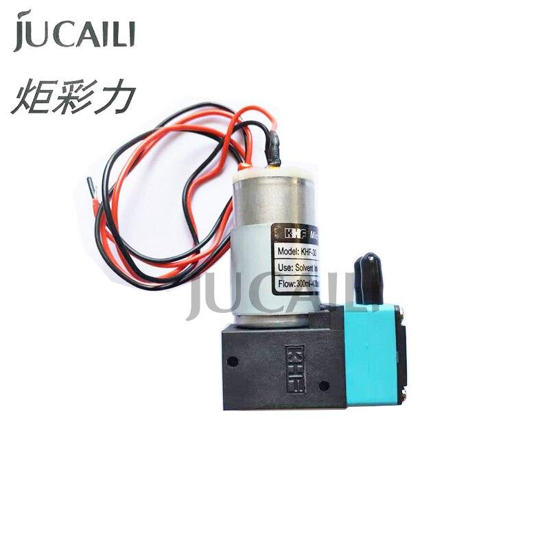 Jucaili 2 uds impresora de alta calidad KHF, gran bomba de tinta para Epson impresora eco solvente/impresora de inyección de tinta KHF, 7W 300-400ml bomba de tinta
