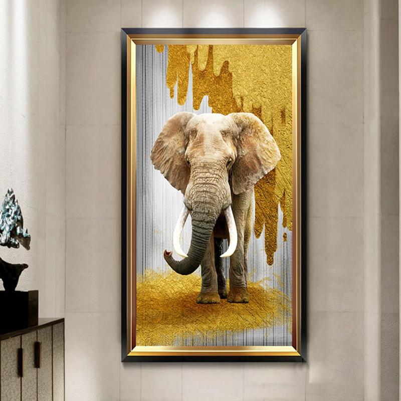 DIY Diamond Painting Animal elephant 5D Diamond Embroidery Elephant Picture Diamond Cross stitch Home Decoration Holiday gift