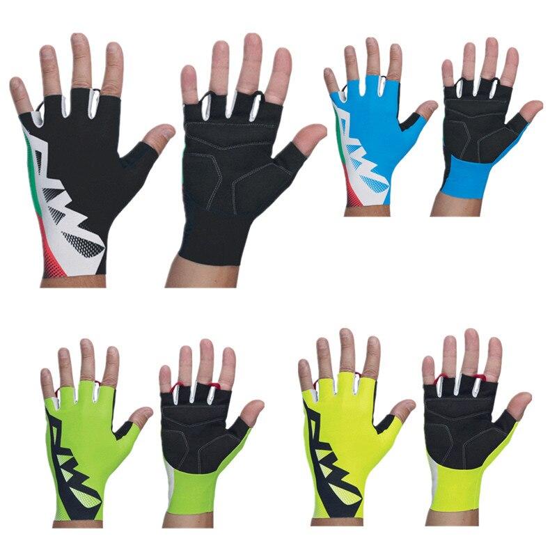 Guantes de Ciclismo de medio dedo para hombre y mujer, cómodos, transpirables,...