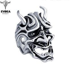 Evbea japonês mitologia anel bijoux punk grande motocicleta anéis masculino & masculino jóias