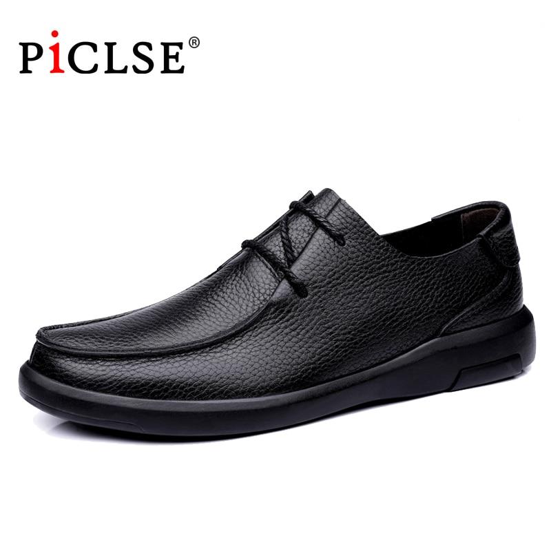 العلامة التجارية الفاخرة جلد أصلي للرجال أحذية المتسكعون الأعمال أحذية من الجلد الرجال حذاء مسطح مريح الأخفاف الرجال