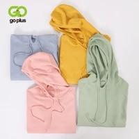 goplus womens knitted jacket korean style sweater women hooded pullovers oversized sweaters jumper swetry damskie pull femme