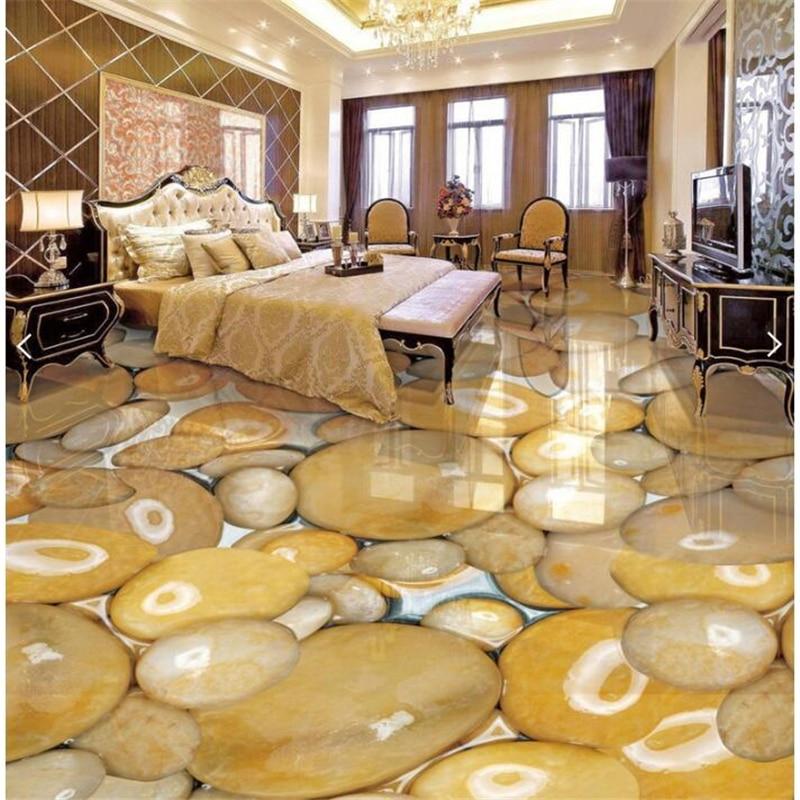 Индивидуальные гладкие и прозрачные мраморные в воде 3D декоративные напольные покрытия наклейки водонепроницаемые Нескользящие самоклея...