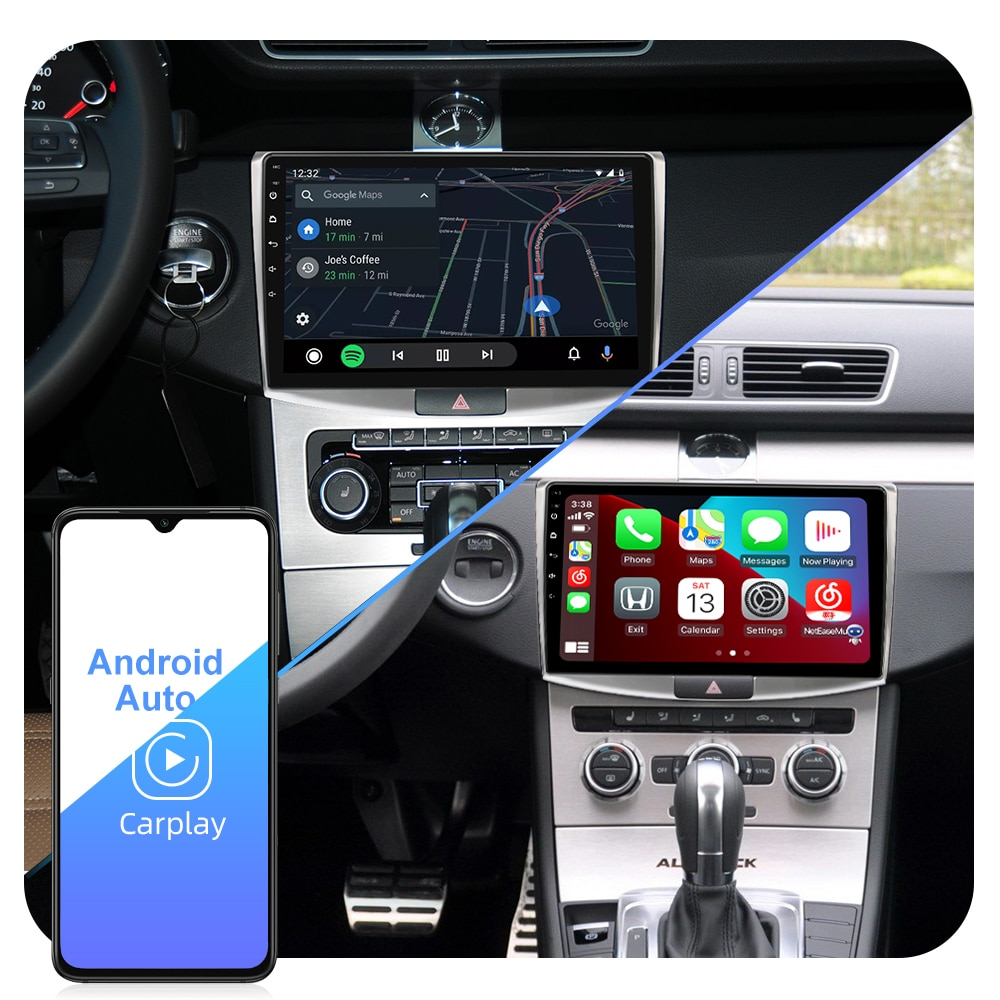 ISUDAR T72 QLED Android 10 Car Radio For VW/Volkswagen/Passat B7 CC B6 Car Multimedia RAM 6GB CANBUS Camera DSP GPS DVR No 2din