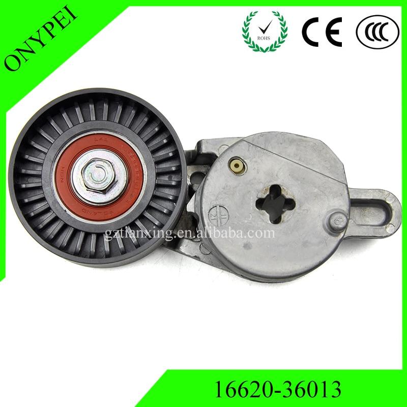 16620-36013 V-acanalado cinturón serpentino tensor para Toyota 1662036013 a 16620, 36013