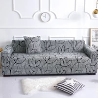 elastic plain solid sofa cover stretch tight wrap all inclusive sofa cover for living room sofa couch cover armchair cover made