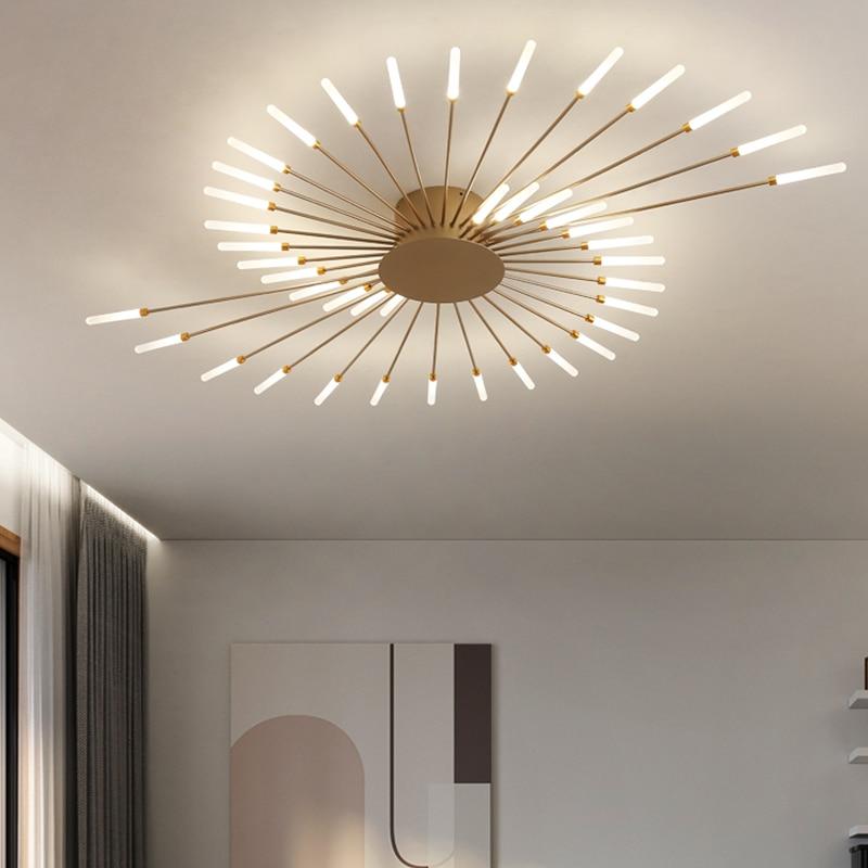 Стильные светодиодные потолочные светильники для спальни, столовой, фойе, кухни, виллы, квартиры