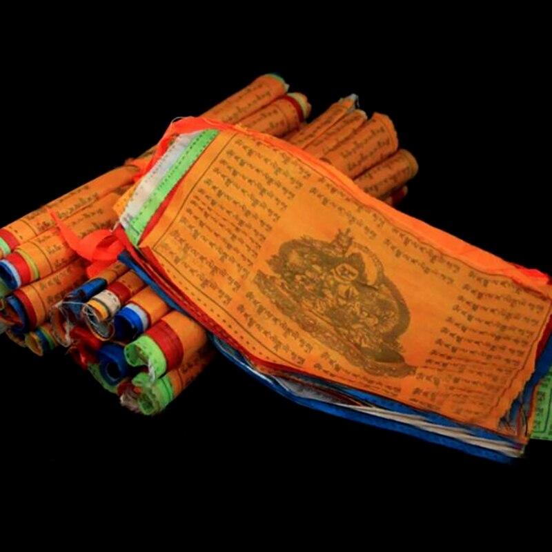 5 м, религиозные флаги, тибетские буддистские товары, цветной Тибетский баннер, садовые флаги горячая распродажа