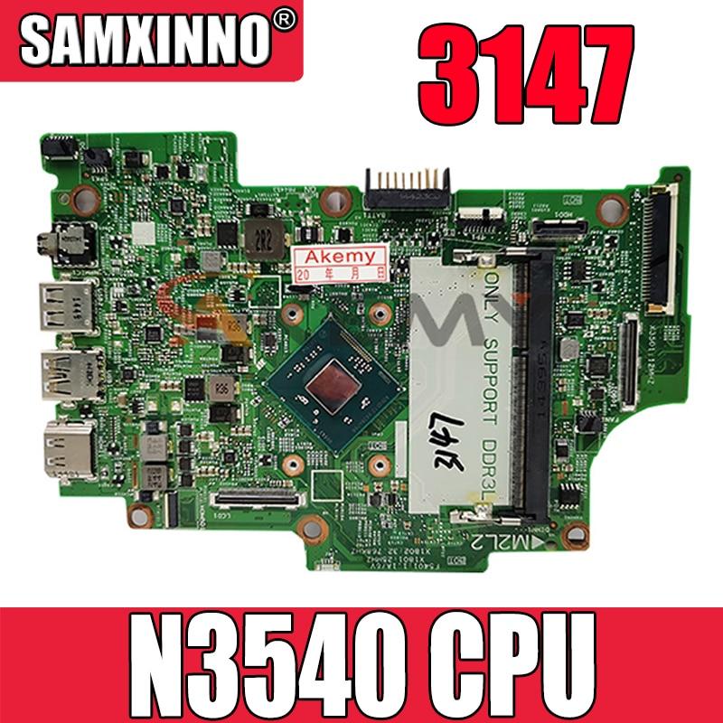 لوحة الأم الأصلية لأجهزة الكمبيوتر المحمول DELL Inspiron 3147 Core N3540 SR1YW CN-0KW8RD اللوحة الرئيسية 0KW8RD 13270-1 DDR3