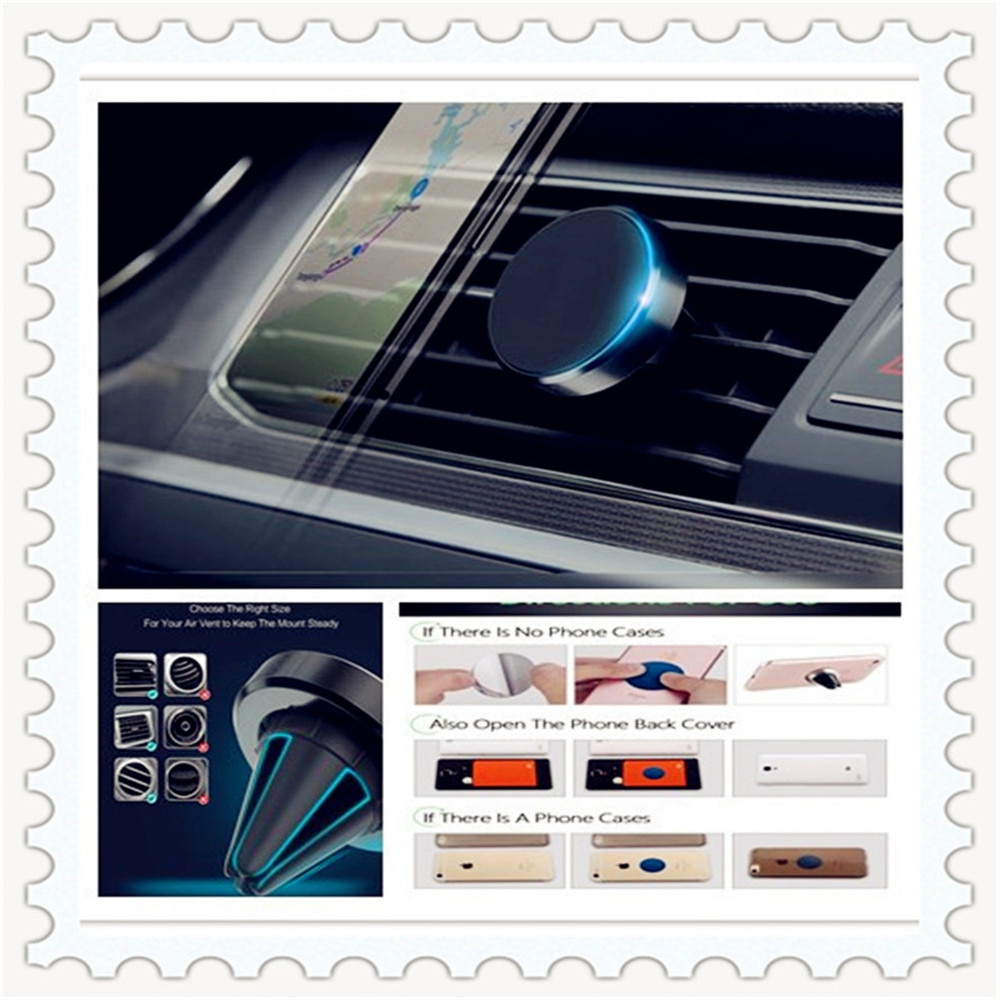 Sostenedor del teléfono del coche imán de ventilación de aire para Teléfono Celular soporte para Ford C-MAX Flex B-MAX Atlas cinco FG F-350 F-250 e-Series