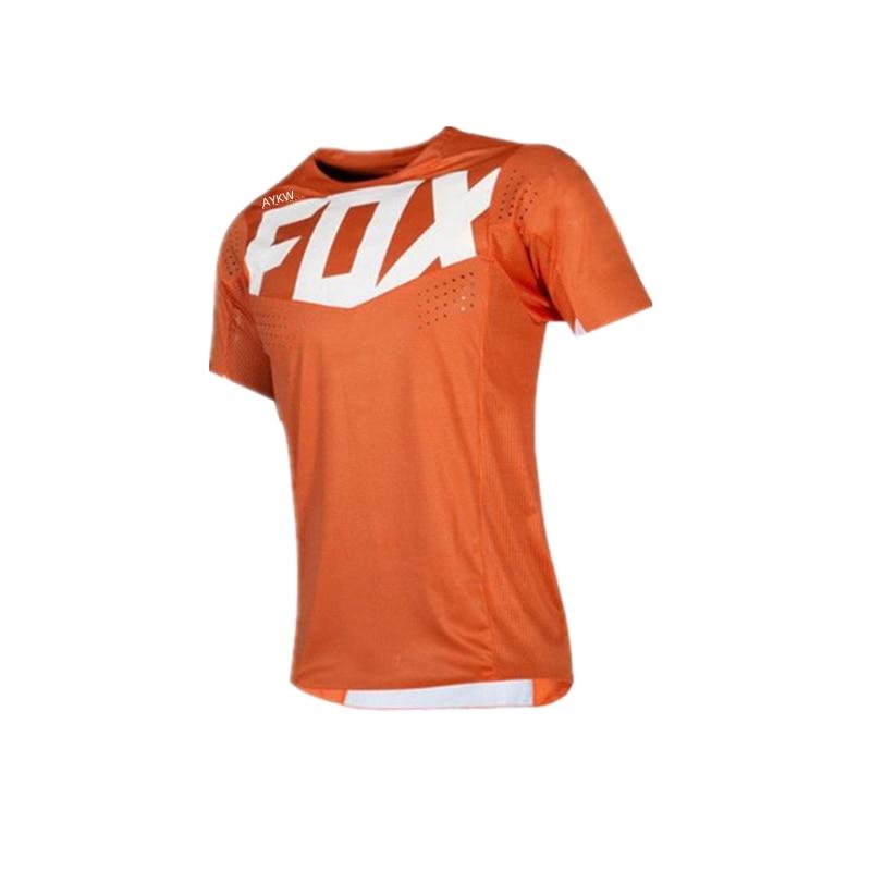 Fox Vtt-camisetas De Ciclismo De Maglia para hombre, Maillot para Ciclismo De...