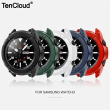 Protective Case For Samsung Galaxy Watch 3 41mm 45mm Smart Watch Cover Bezel Ring Frame Shell Protec