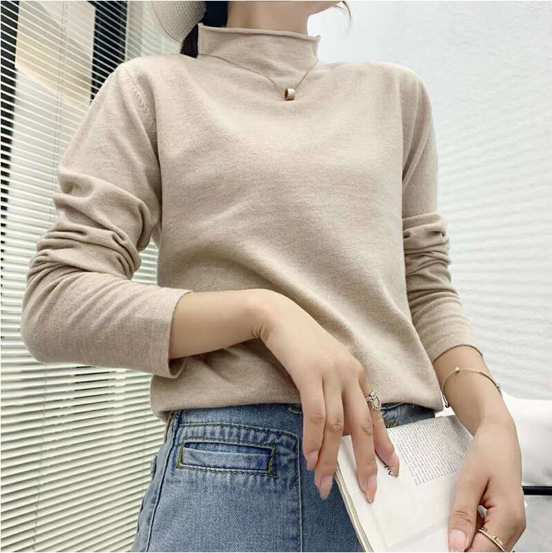 7 PCS Wholesale Autumn Winter Women Sweaters Autumn Long Sleeve Knitted Pullover Sweater High quality High pullover sweaters enlarge