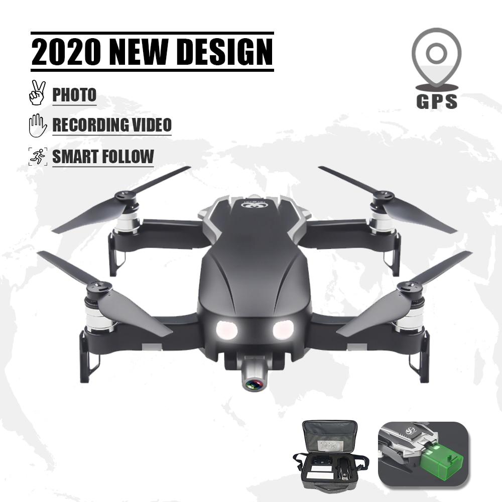 Zangão gps dron 4k quadrocopter rc selfie profissional com câmera fpv helicóptero brinquedos para crianças adultos speelgoed oyuncak vs f11