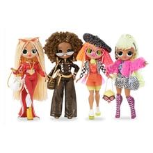 LOL Surprise originale poupées OMG   Poupée OMG surdimensionnées boîte à stores, cadeau pour fille, Surprise pour la toilette jouets cadeau danniversaire