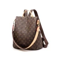 anti theft backpack female 2021 new korean fashion large capacity mother backpack leisure travel bag