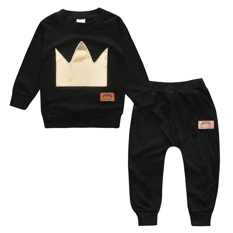 Oeak, conjunto de roupa de bebê para outono, pulôver de algodão com mangas compridas em formato de o, roupa de bebê