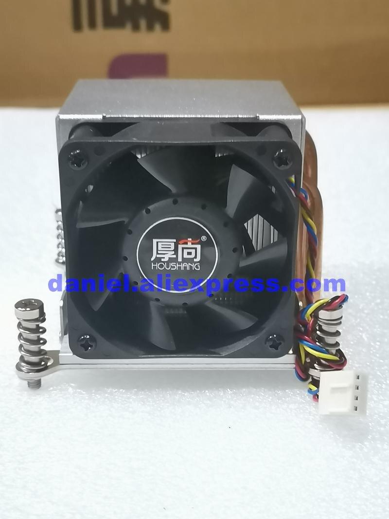 hou shang radiador de cpu 115x 1150 1151 1155 1156 2011 pinos inferior de cobre puro