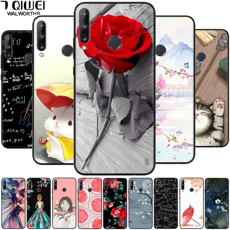 Чехол для Huawei P30 Lite, новое издание, Marie-L21BX, силиконовые мягкие чехлы для телефонов Huawei P30 Lite 2020 Para TPU P 30 Lite