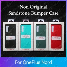 AC2003 Non Original Sandstone Bumper For OnePlus Nord Case Cover AC2001