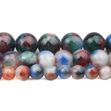 6/8/10mm Natural Confusion Persian Jades Stone Beads Round Loose Beads for Accessories Jewellery Mak