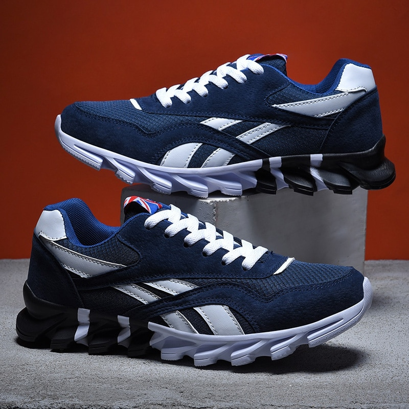 New Breathable Sport Walking Shoes for Men Plus Size Running Sneakers Men Trainers Spring Summer Athletic Shoes Cheap Footwears