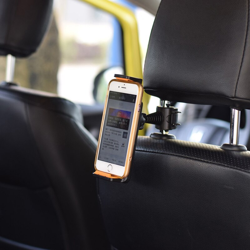 360˚ Rotating Car Back Seat Headrest Mount Holder Stand For GPS Tablet 4
