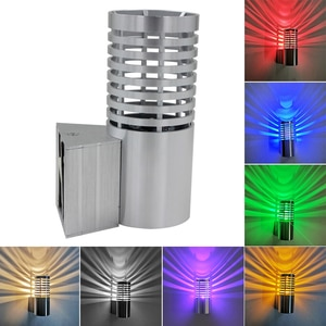 3W LED Wall Sconce Light Indoor Lamp Fixture Aluminum Bedroom Surface Mounted