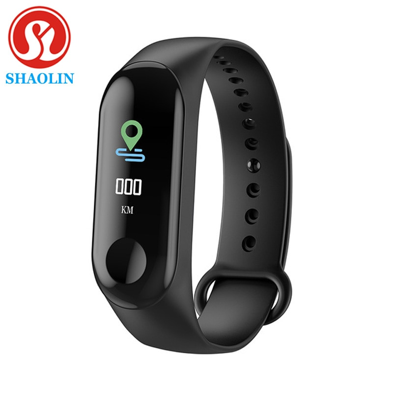 SHAOLIN Fitness Bracelet Smart Watch Band Trcker Sport Pedometer Heart Rate Blood Pressure Bluetooth
