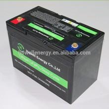 Batterie solaire de paquet de batterie dion de lithium de 11.1V 12V 100Ah