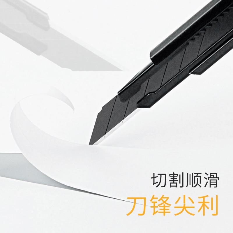 Купить с кэшбэком YOUPIN Fizz Utility Knife Aluminum Alloy Metal Blade Self-locking Design Sharp Angle with Fracture Knife Cutter