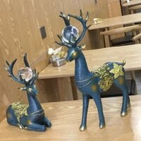 home accessories european decorations creative lovers gift wine cabinet living room tv cabinet decoration lucky deer decorations
