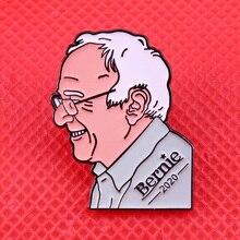 Bernie Sanders Trump emalia Pin kampania prezydencka broszka polityczna