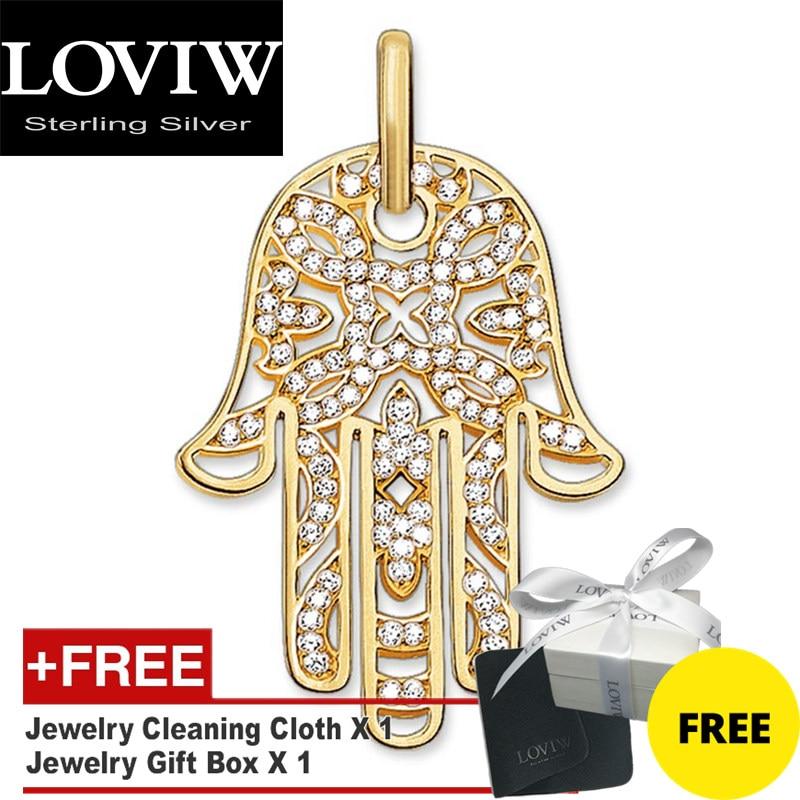 Colgante de mano de Fátima, Nueva joyería de Color dorado, accesorios de plata Thomas sabor, regalo para hombres y mujeres