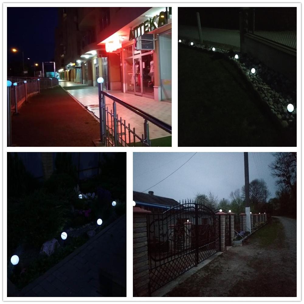 8 pcs/lot LED Solar Garden Light Outdoor Waterproof Lawn Light Pathway Landscape Lamp Solar Lamp for Home Yard Driveway Lawn Ro enlarge