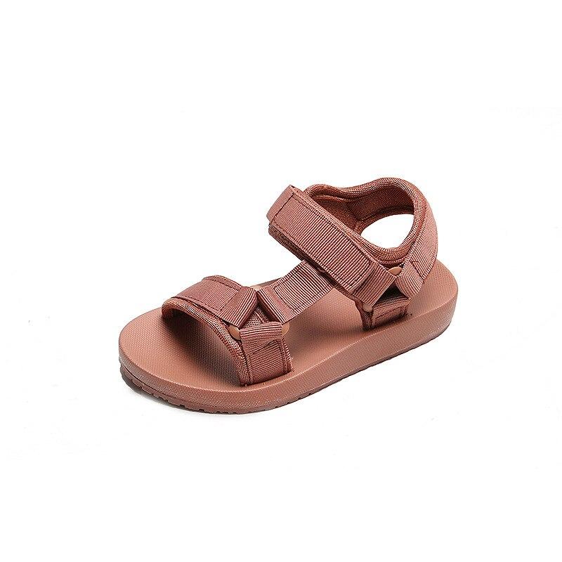 Zapatos de moda para niños, Sandalias para niñas, Sandalias de verano para niños con estilo, Sandalias infantiles de velcro, Sandalias planas Mellisa