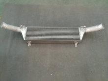 Intercooler de aluminio para OPEL Vauxhall Corsa D 1,4 Turbo, montaje frontal, mejora, Inter cooler