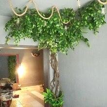 12 pcs/Lot en plastique arbre artificiel Ficus feuille Ginkgo Biloba Branches en plein air à la main feuilles pour bricolage fête maison bureau décoration