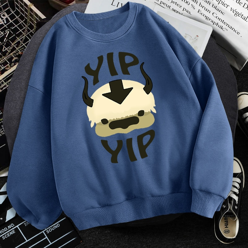 Man 2021 New Fleece Sweatshirts Avatar The Last Airbender Harajuku Loose Streetwear Top Autumn Spring O Neck Pullover Hoody Mens